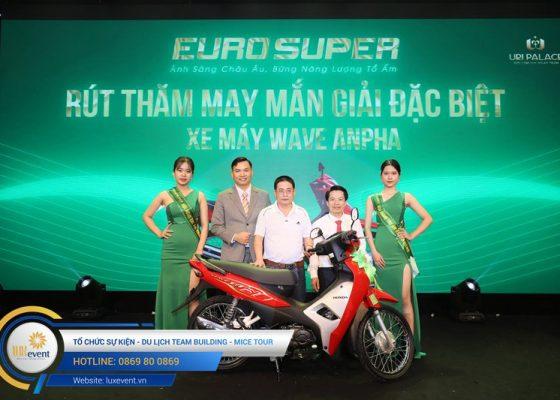 tổ chức hội nghị tri ân khách hàng - Euro Super 030