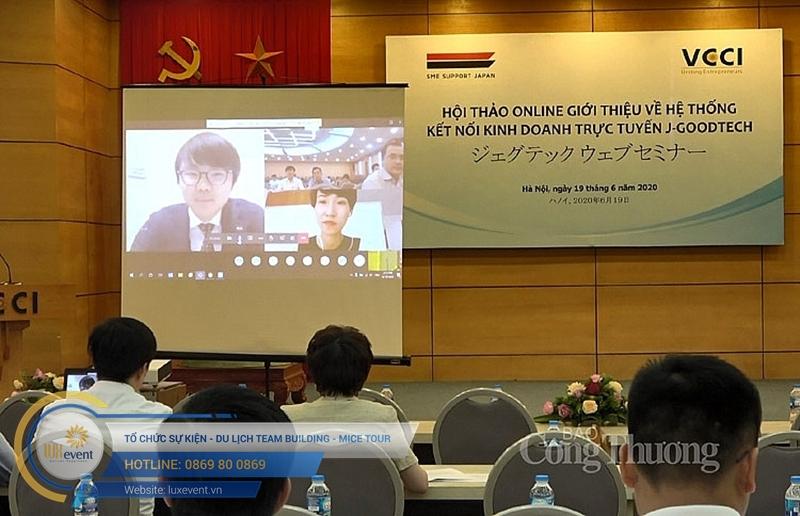 hội thảo trực tuyến đào tạo doanh nghiệp