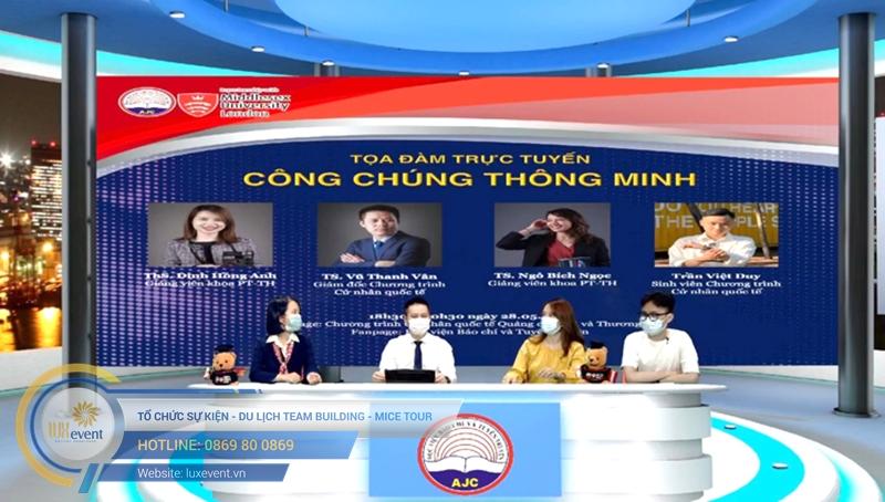 dịch vụ hội thảo trực tuyến