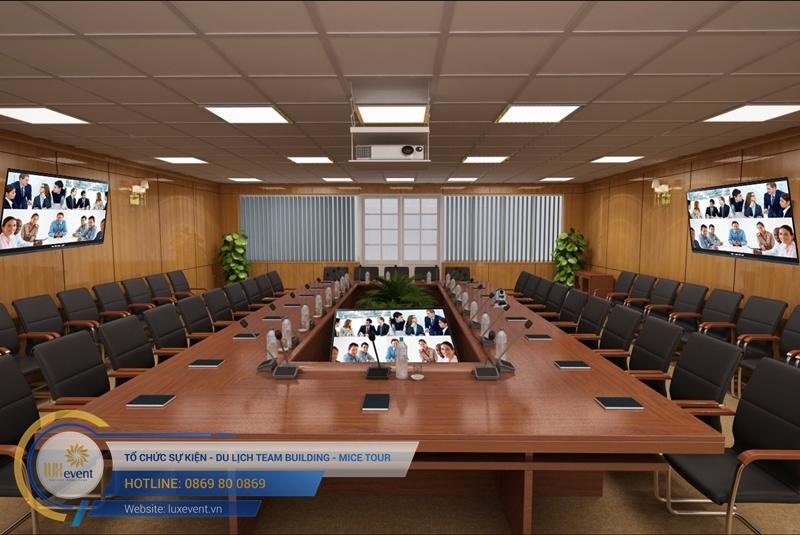 thiết bị tổ chức hội nghị trực tuyến